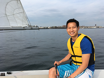 Catching up with Georgia Tech Paper Science and Engineering grad student Thomas Kwok