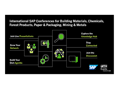 SAP Conference for Forest Products, Paper & Packaging is April 27-29